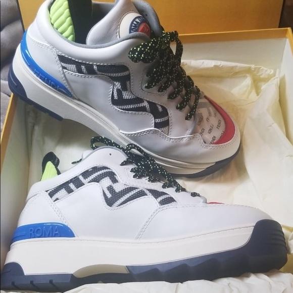 Fendi Shoes   Fendi Roma Sneakers